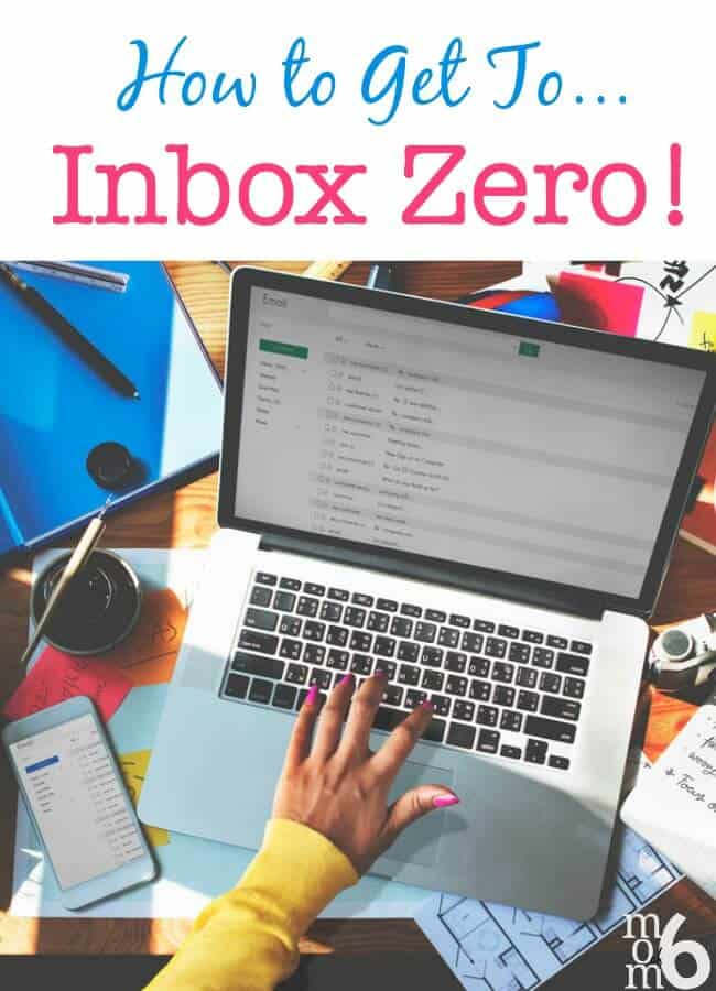 Do you need to declutter your inbox in order to start to declutter your life? Here's a plan to get you to