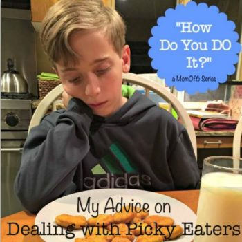 My Advice on Dealing with Picky Eaters