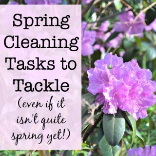 5 Spring Cleaning Tasks to Tackle Today!