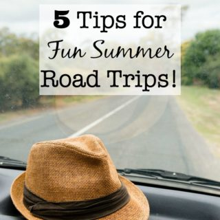 5 Tips for Fun Summer Road Trips {And a Giveaway!}