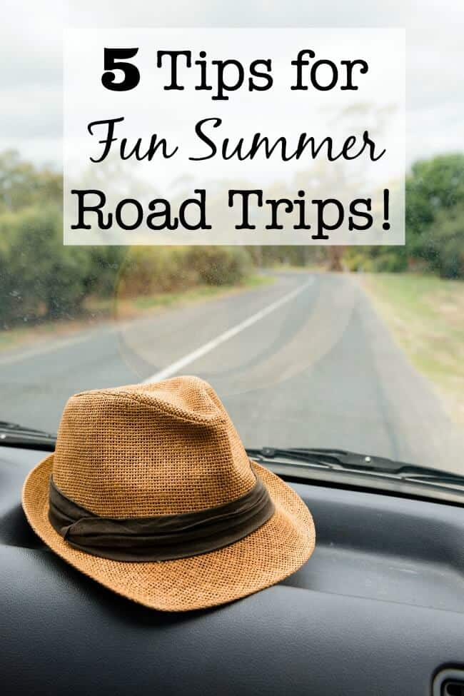 5 Tips for Fun Summer Road Trips