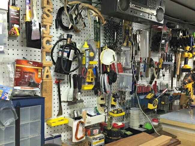 garage workbench