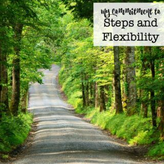 My Commitment to Steps and Flexibility