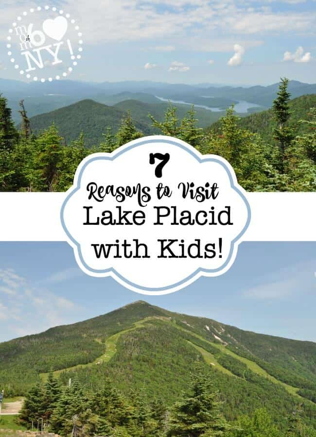 Lake Placid is a gorgeous alpine village located in the heart of the Adirondack Mountains, and the site of the 1980 Winter Olympic games. There are so many great things to do in Lake Placid with kids- here are 7 you won't want to miss!