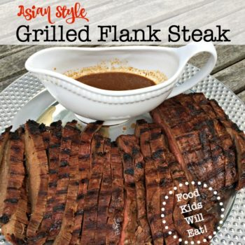 Asian Style Grilled Flank Steak
