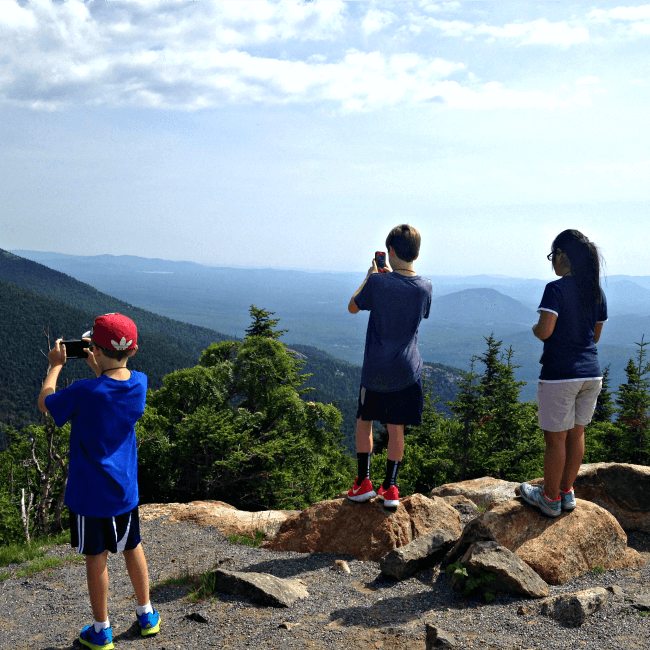 Lake Placid road trip with kids