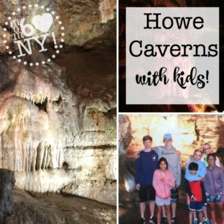 Howe Caverns with Kids!