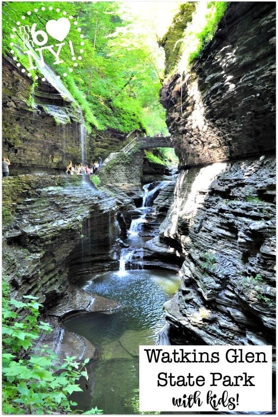 Some of our favorite family road trips have been to New York state parks, and visiting Watkins Glen State Park with kids, located in the Finger Lakes region of New York, is right at the top of our list.