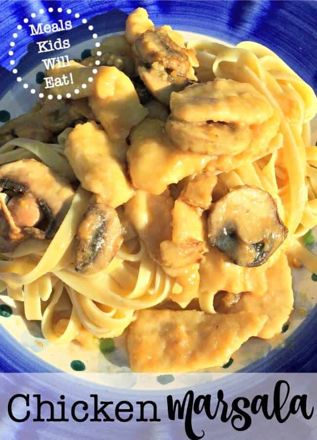 This Easy Chicken Marsala Is One Of My Familys Favorite Dishes And Kids Request