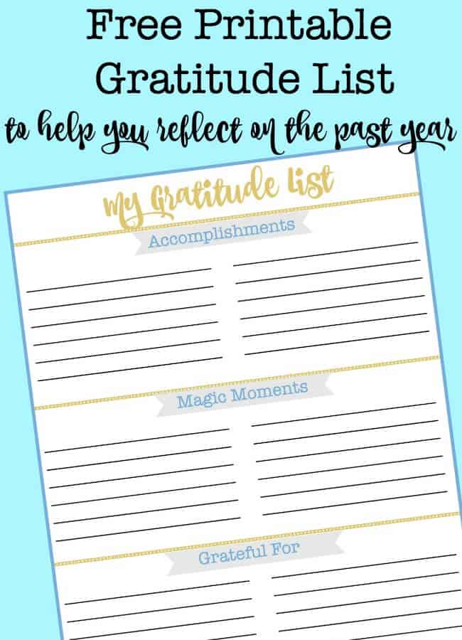 photograph about Printable Lists titled Free of charge Printable Graude Checklist in direction of Guidance By yourself Replicate upon the