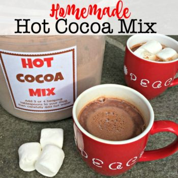 Homemade Hot Cocoa Mix!