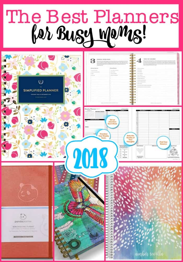 here are the best planners for moms for 2018 2019 which can lead you