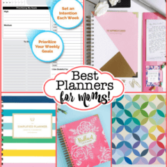 The Best Planners for Moms for 2017!