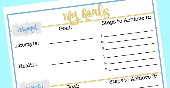 A Great Goal Setting Worksheet To Set You Up For Successful Year. A Great Goal Setting Worksheet To Set You Up For Successful Year Momof6. Worksheet. Goal Setting Worksheet At Mspartners.co