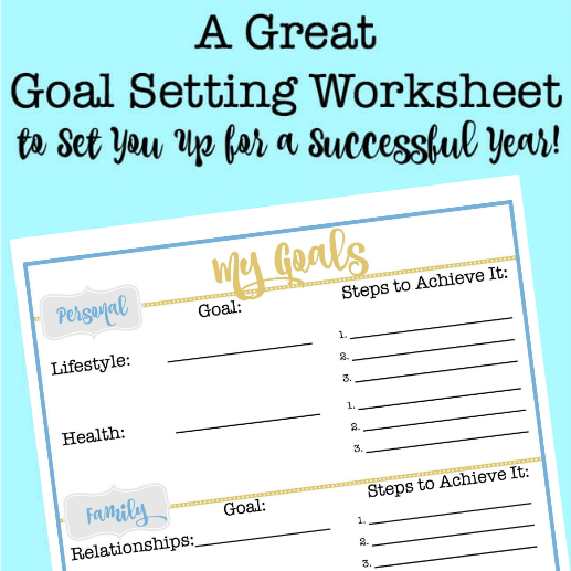 goal setting worksheet Goal setting worksheets choose a smart goal to work on from the plans below career smart goals start working on my first career smart goal.