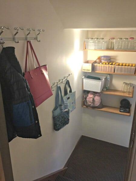 decluttering storage areas