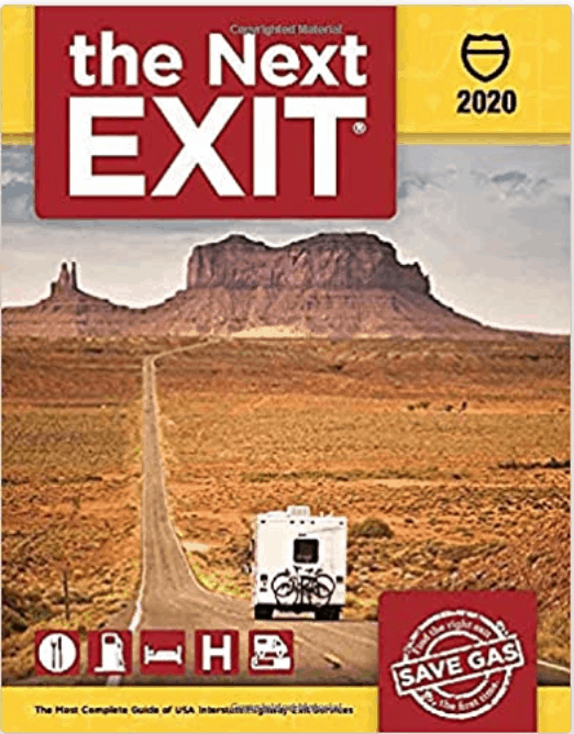 The Next Exit book- a road trip essential