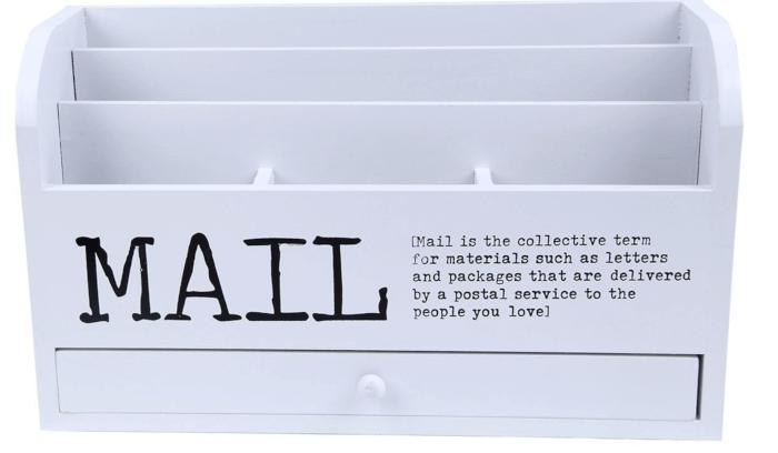 6 Mail Organizer Ideas! - MomOf6