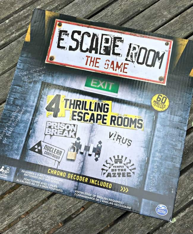 graphic about Free Printable Escape Room Kit Pdf referred to as How in the direction of Toss an Escape Area Birthday Get together at House! - MomOf6