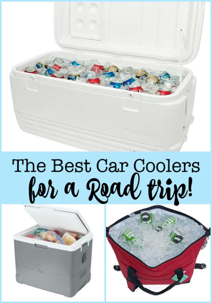 Here is a look at some of the best car coolers on the market! We own them, we've used them- and we know which ones work best for different kinds of road trips!