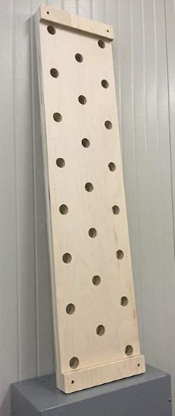ninja warrior course- peg wall