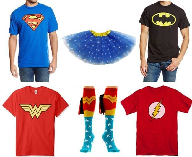 DC Comics costumes for tweens