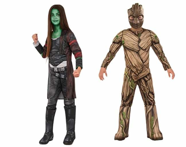 Guardians of the galaxy costumes for kids