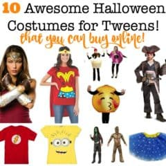 10 Halloween Costumes for Tweens You Can Buy Now! (2017)