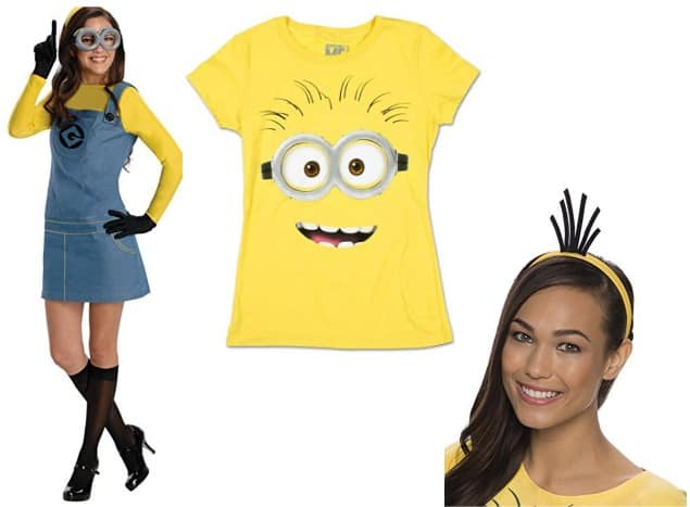 Minion costumes for tweens