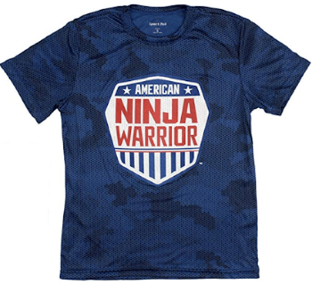 ninja warrior tee for kids