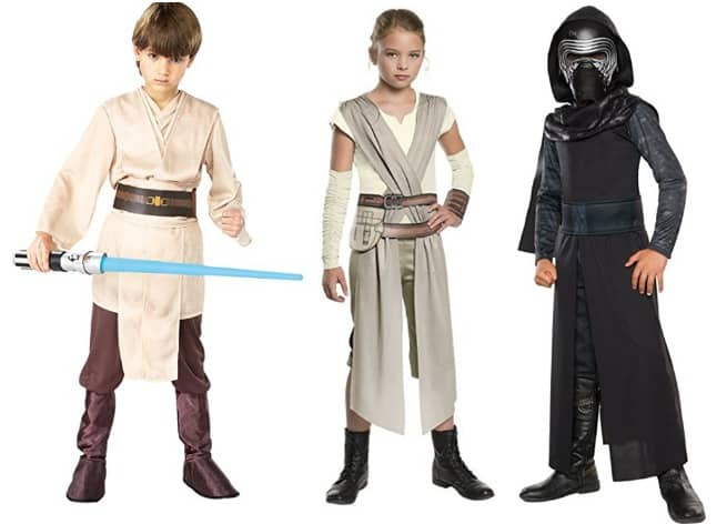 Star Wars costumes for tweens