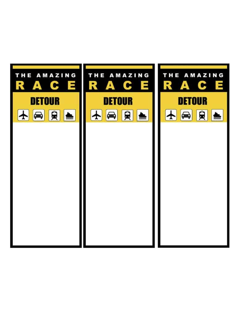 Thanks for subscribing to the momof6 newsletter here 39 s for The amazing race clue template