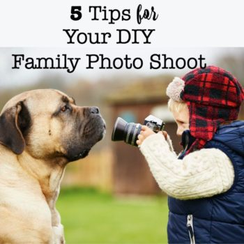 5 Tips for Your DIY Family Photo Shoot