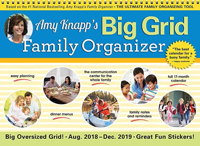 Amy Knapp Big Grid Family Organizer