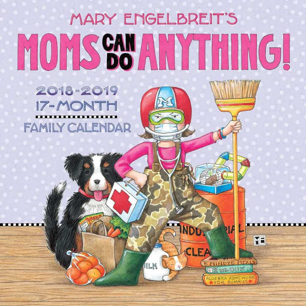 Moms Can Do Anything Wall Calendar