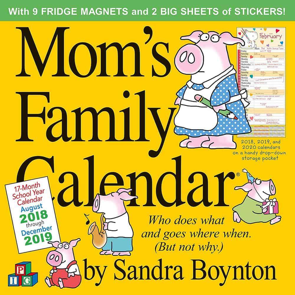 The Best Family Calendars For 2019