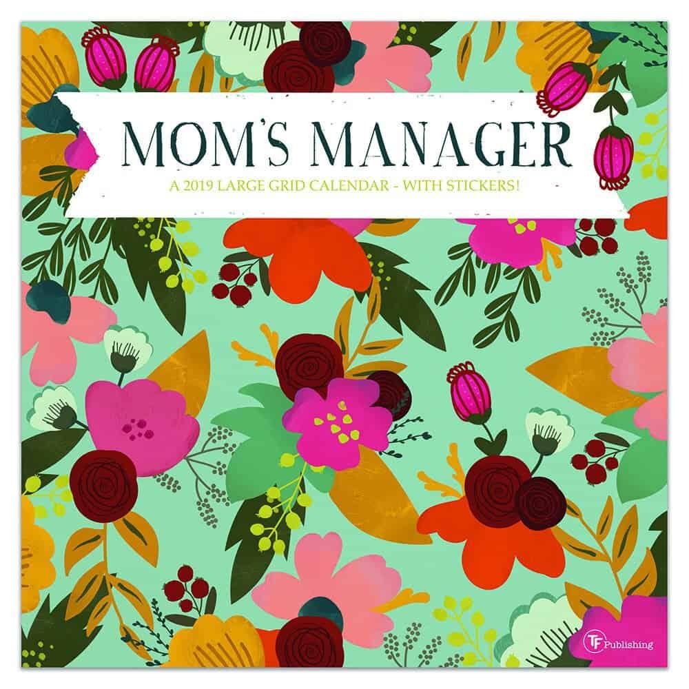 Mom's Manager Wall Calendar