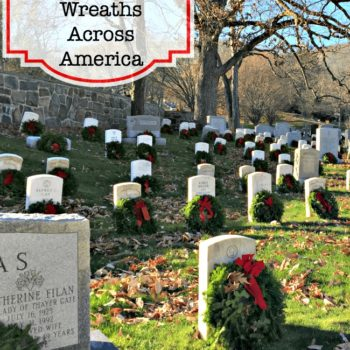 Our Family's Experience Volunteering with Wreaths Across America