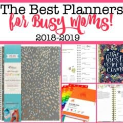 The Best Planners for Moms for 2018-2019!