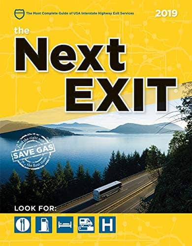 travel gifts: Next Exit book