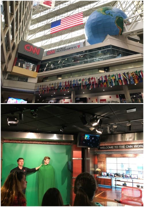 great things to do in Atlanta with kids: CNN tour