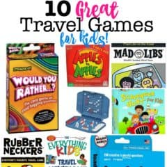 10 Great Travel Games for Kids!
