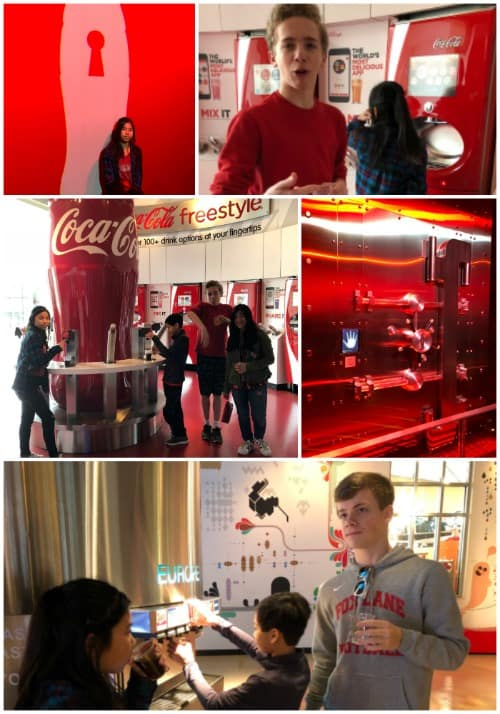 great things to do in Atlanta with kids: The World of Coke