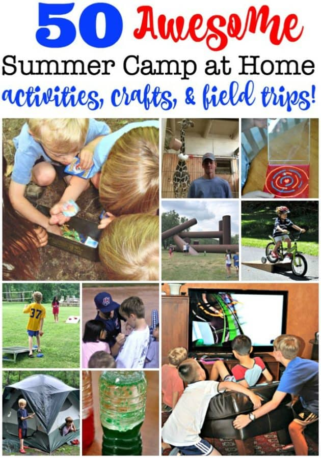 50 Fun Summer Activities Crafts Field Trips From Pre K To Teens