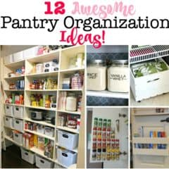 12 Pantry Organization Ideas!