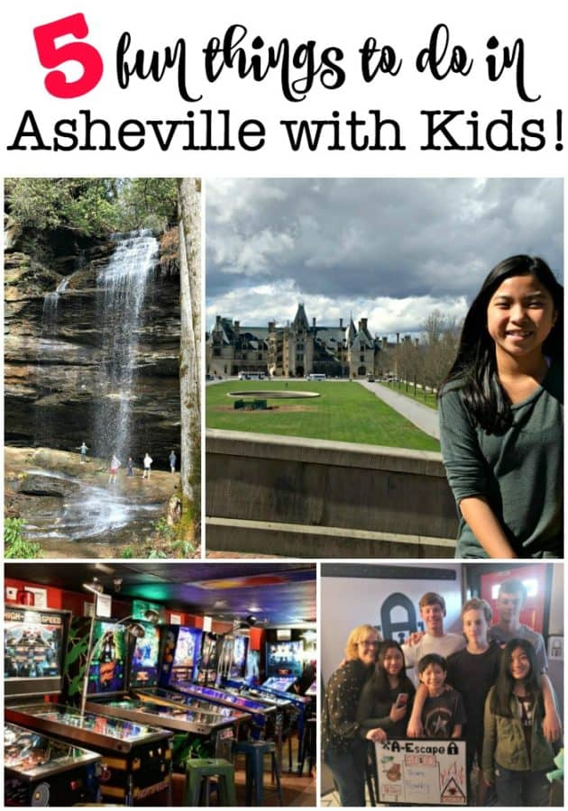 There are so many fun things to do in Asheville with kids which makes it a great place to visit on a family road trip! From the grandeur of the Biltmore Estate to the majesty of the Blue Ridge Mountains, there's lots to do both outdoors and in!