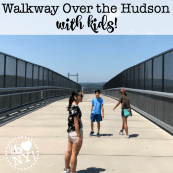 Walkway Over the Hudson with the Kids!