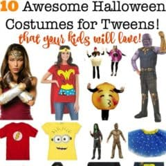 10 Halloween Costumes for Tweens {2018}