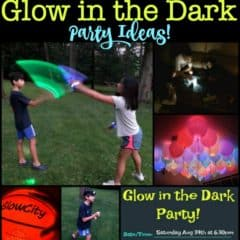 15 Awesome Glow in the Dark Party Ideas!