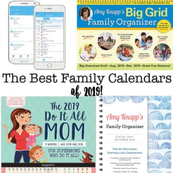 The Best Family Calendars for 2019!